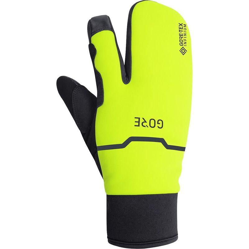 送料無料 サイズ交換無料 ゴアウェア メンズ アクセサリー 手袋 Black/Neon Yellow ゴアウェア メンズ 手袋 アクセサリー GORE-TEX Infinium Thermo Split Glove Black/Neon Yellow