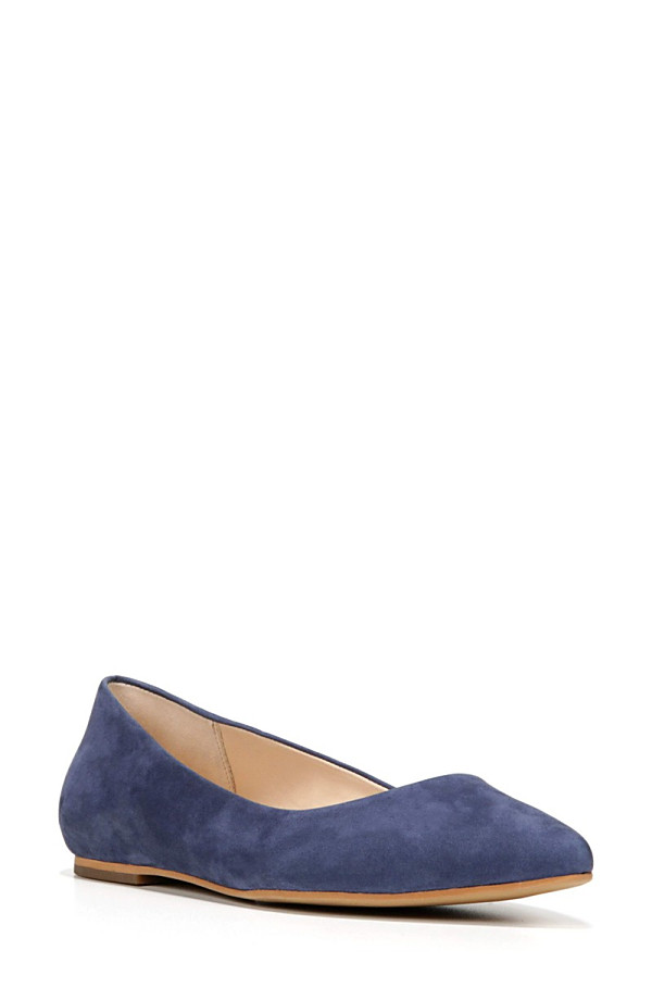 ドクター・ショール レディース サンダル シューズ Dr. Scholl's Original Collection Kimber Flat (Women) Navy Suede
