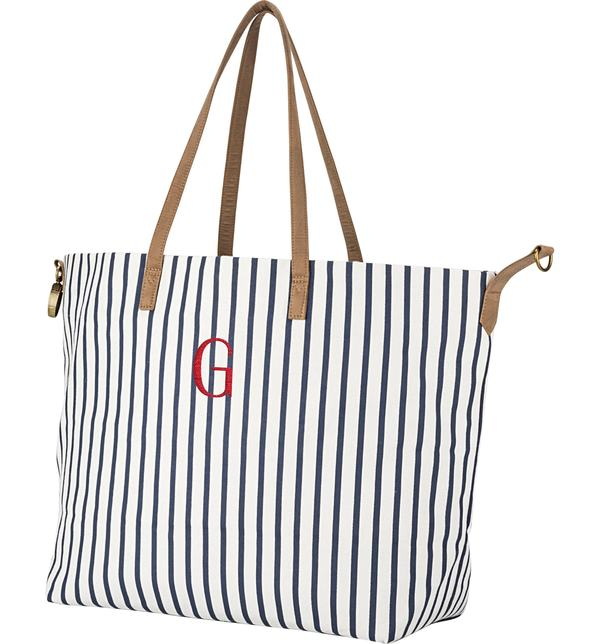 367a6c501a78 キャシーズ コンセプツ レディース トートバッグ バッグ Cathy's Concepts Monogram Overnight Tote Blue G