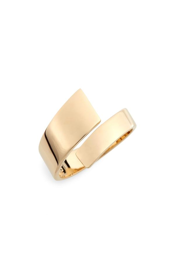 ボニー レヴィ レディース 指輪 アクセサリー Bony Levy Ofira Open Wrap Ring (Nordstrom Exclusive) Yellow Gold
