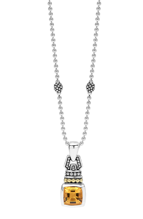 under armour lagos caviar color pendant necklace citrine mozeypictures Image collections