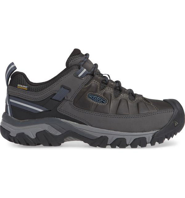キーン メンズ スニーカー シューズ Keen Targhee III Waterproof Hiking Shoe Steel Grey/ Captains Blue