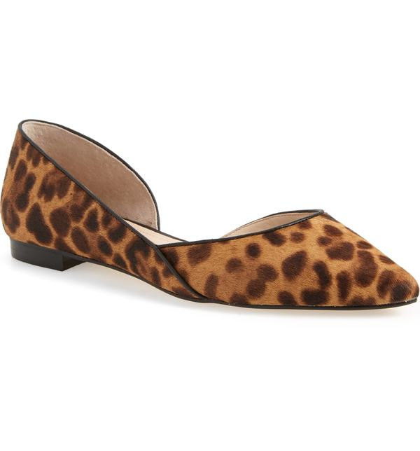 マーク・フィッシャー レディース ヒール シューズ Marc Fisher LTD Sunny Genuine Calf Hair Flat Leopard Calf Hair
