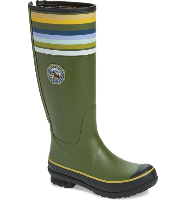 ペンドルトン レディース サンダル シューズ Pendleton Rocky Mountain National Park Tall Rain Boot Olive Rubber