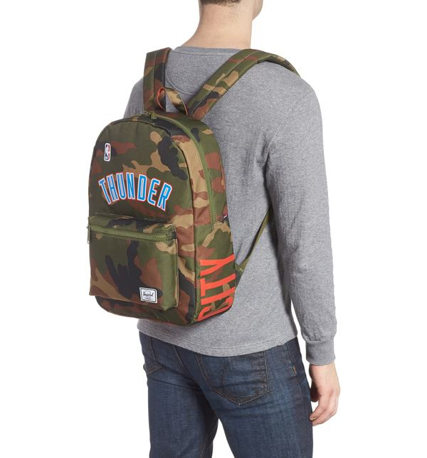 0a2a4cbc01 ハーシェルサプライ バックパック・リュックサック バッグ Herschel Supply Co. Superfan Settlement NBA Backpack  Oklahoma City Thunder メンズ-バックパック・ ...