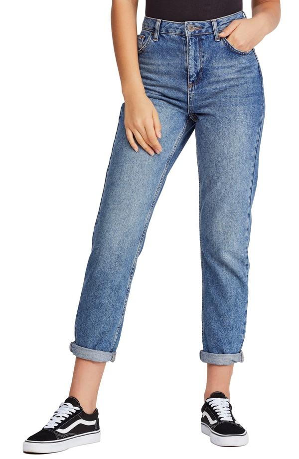 ビーディジー レディース デニムパンツ ボトムス BDG Urban Outfitters Mom Jeans (Dark Vintage) Dark Denim
