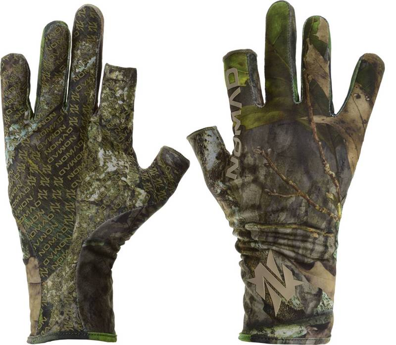 送料無料 サイズ交換無料 [再販ご予約限定送料無料] ノマド メンズ アクセサリー 手袋 Realtree Turkey Gloves EDGE Fingerless 希望者のみラッピング無料 Men's NOMAD