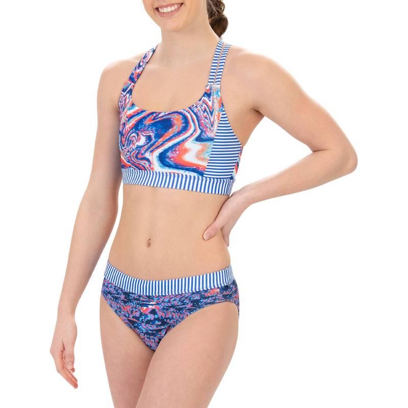 送料無料 サイズ交換無料 ドルフィン レディース 水着 上下セット HYPERLINKED 激安格安割引情報満載 Dolfin Swimsuit Piece Women's Uglies Workout 往復送料無料 Two Asymmetrical