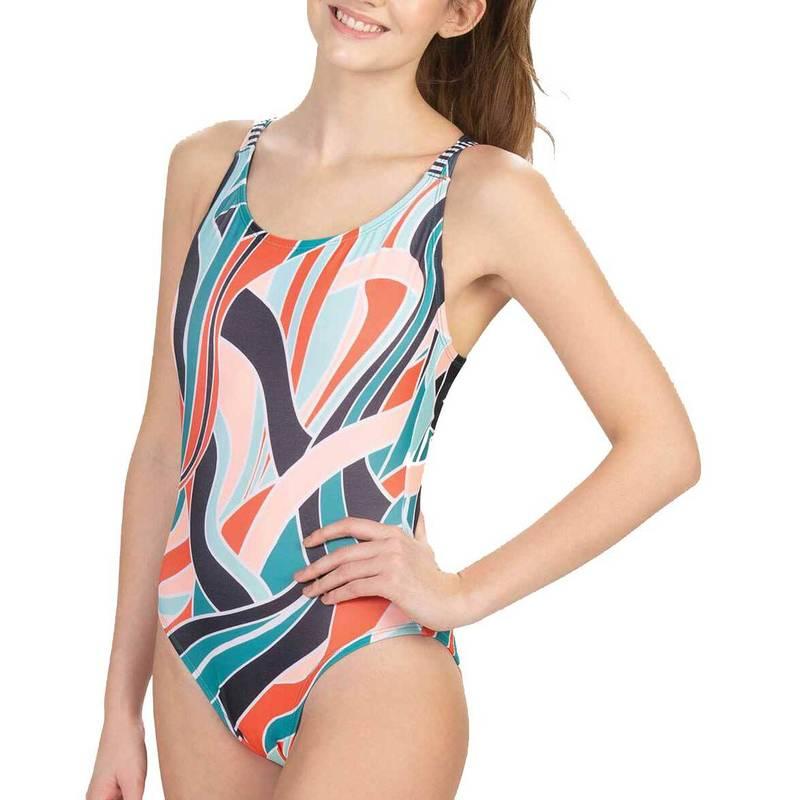 送料無料 サイズ交換無料 ドルフィン レディース 水着 上下セット Paradise Dolfin Women's 高品質 Star Piece Reain 新商品!新型 One Revibe Swimsuit Back