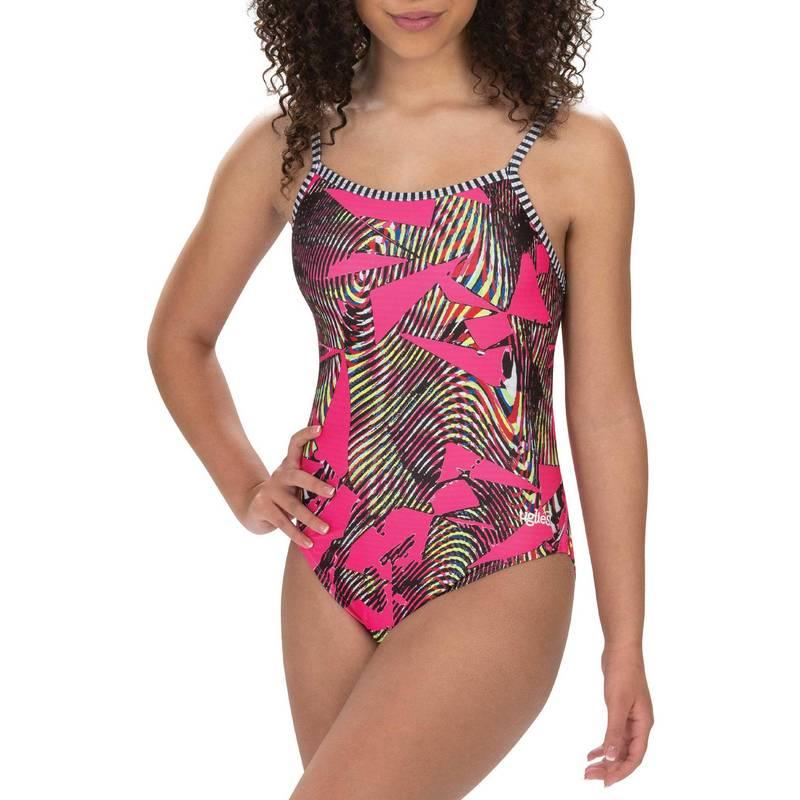 送料無料 サイズ交換無料 ドルフィン レディース 水着 上下セット Serengeti Dolfin Women's 価格 交渉 送料無料 One Strap 人気 Double Piece Print Back Swimsuit Uglies