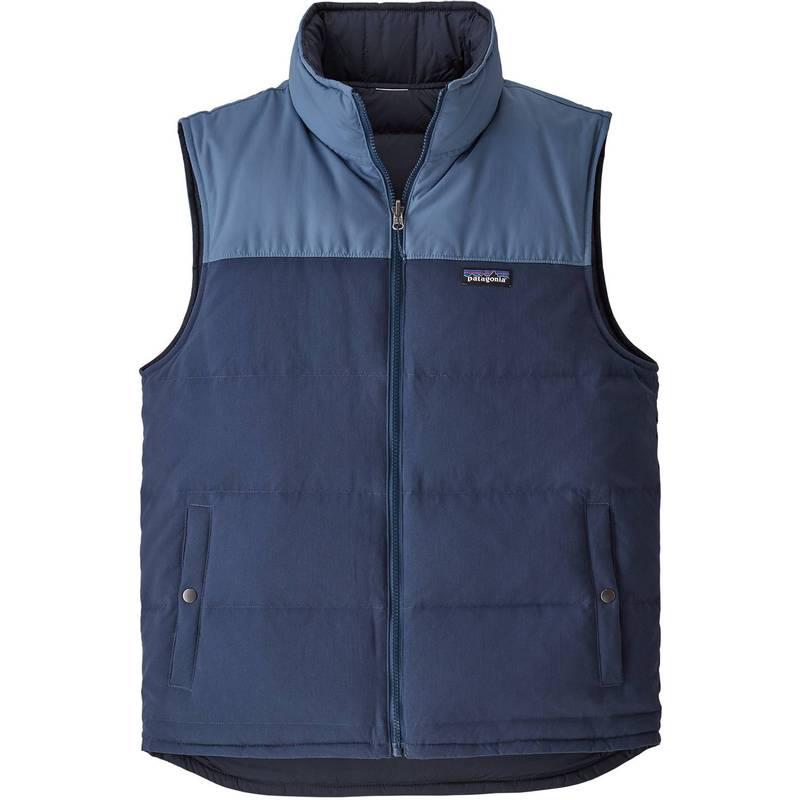 Reversible パタゴニア アウター Vest Men's Blue/Woolly メンズ Patagonia Blue Bivy Stone ジャケット・ブルゾン Down