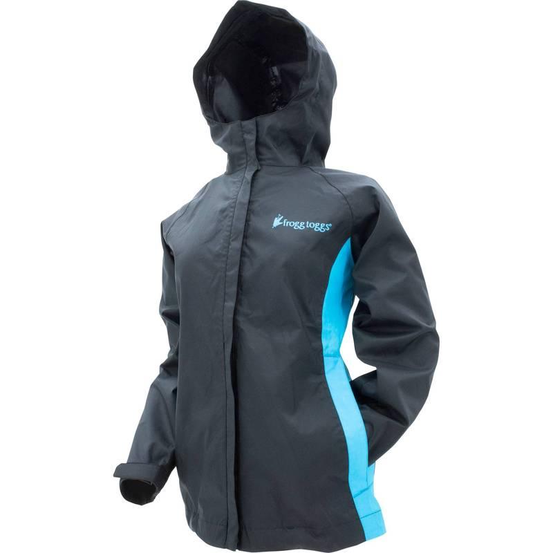 送料無料 サイズ交換無料 フロッグトッグス レディース アウター 公式 ジャケット ブルゾン Black Women's Rain Turquoise Jacket toggs Stormwatch 別倉庫からの配送 frogg