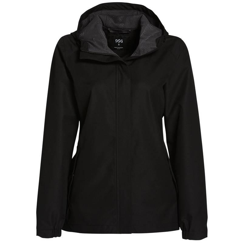 送料無料 サイズ交換無料 DSG 新生活 レディース アウター ジャケット ブルゾン Pure Rain Waterpoof 大人気! Jacket Black Women's
