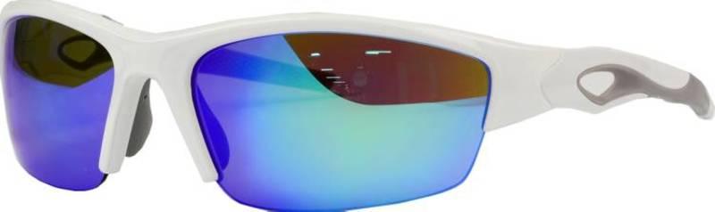送料無料 サイズ交換無料 ローリングス メンズ 人気ブランド アクセサリー サングラス 配送員設置送料無料 アイウェア Baseball Rawlings Blue 32 White Sunglasses Mirror