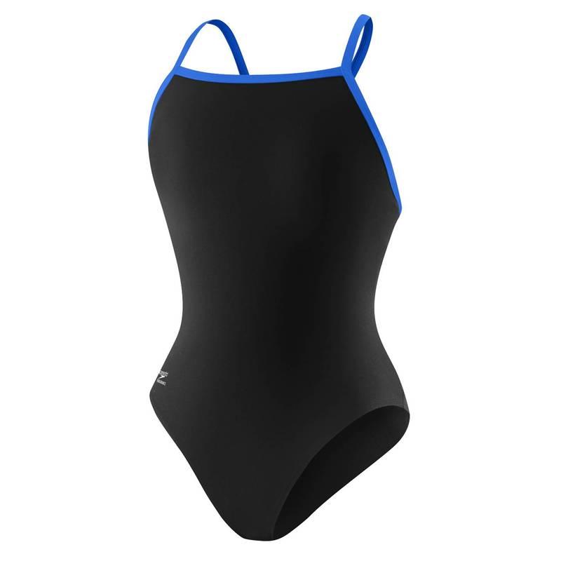 送料無料 サイズ交換無料 スピード 売れ筋ランキング レディース 水着 上下セット ファクトリーアウトレット Black Training Blue Swimsuit Speedo Women's Flyback Endurance+