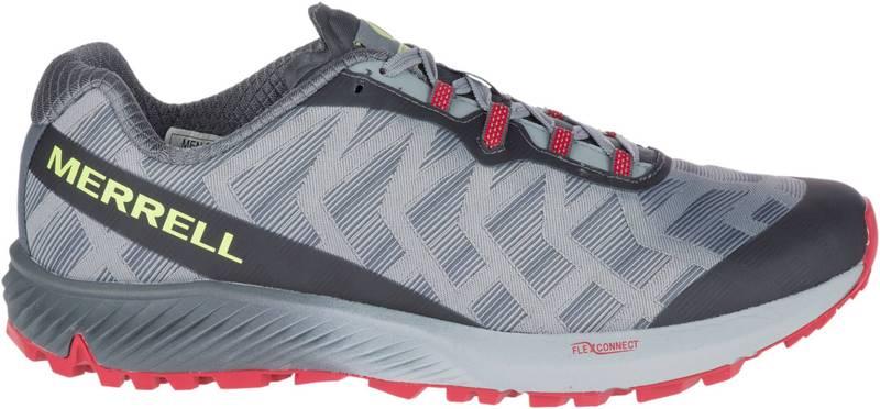 メレル メンズ スニーカー シューズ Merrell Men's Agility Synthesis Flex Trail Running Shoes Grey