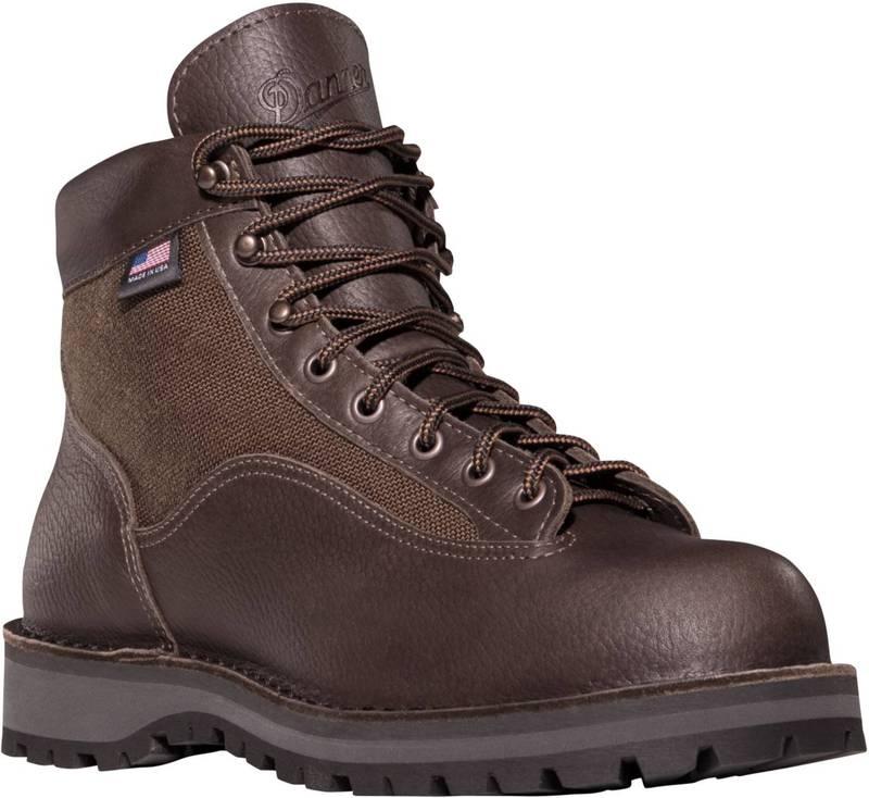 送料無料 サイズ交換無料 ダナー トレンド メンズ シューズ ブーツ ご注文で当日配送 レインブーツ Dark Brown Hike Men's Danner 6'' Waterproof II Boots Light