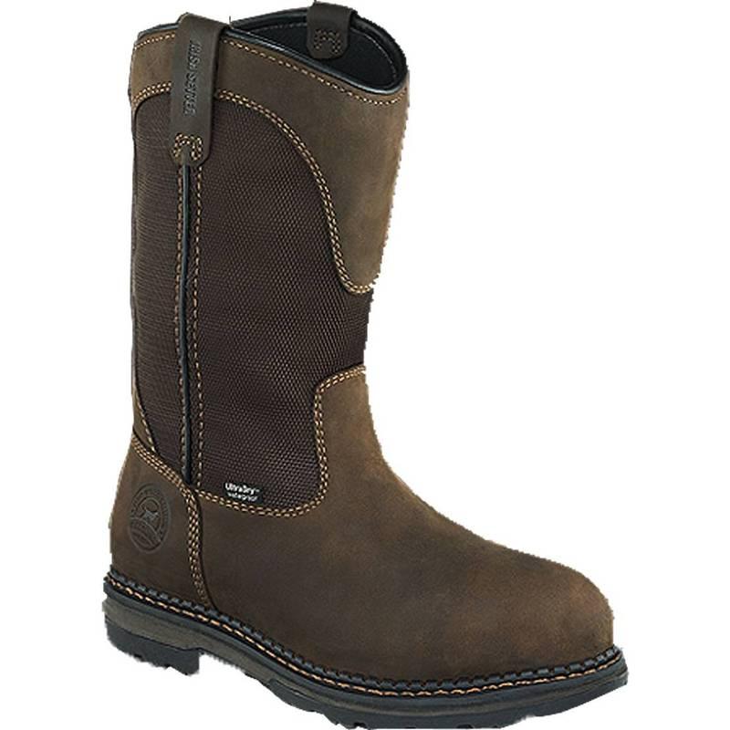 """新生活 送料無料 サイズ交換無料 アイリッシュ セッター メンズ シューズ ブーツ レインブーツ Brown Irish Waterproof Work Toe Setter Aluminum ◇限定Special Price Pull-On Men's 11"""" Boots"""