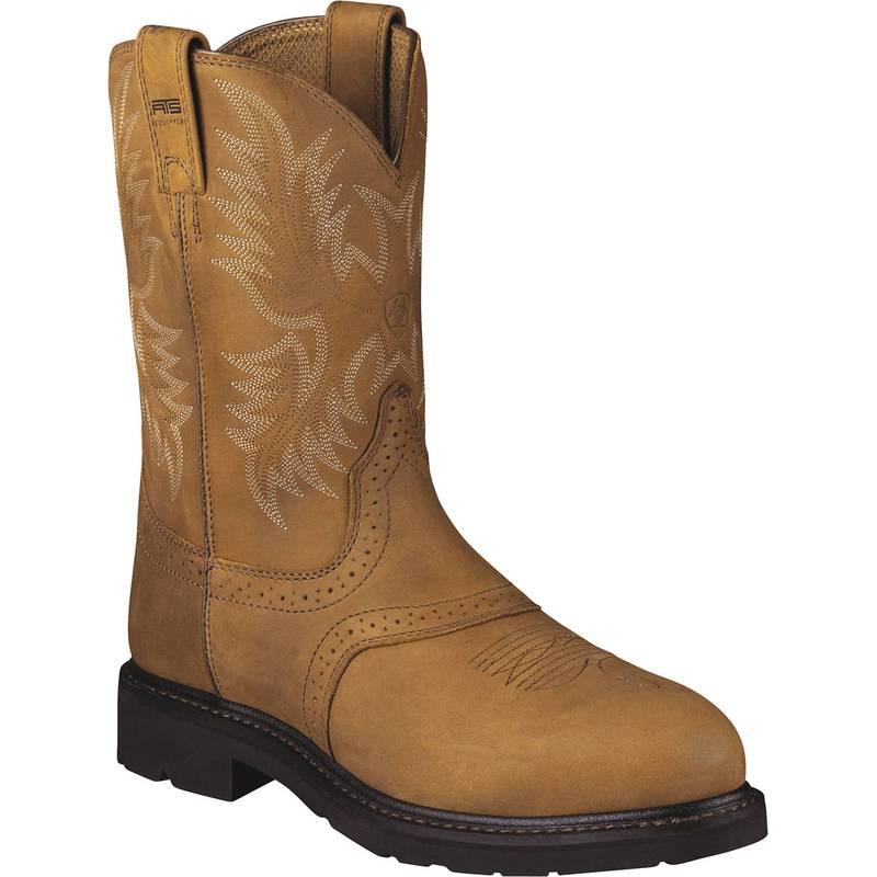 日本最級 アリアト Brown メンズ ブーツ・レインブーツ シューズ Ariat Men's アリアト Sierra Saddle Toe Steel Toe Western Work Boots Brown, ハヤミグン:4dc07eb0 --- rishitms.com