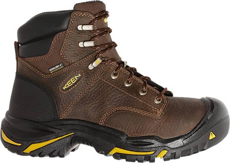 送料無料 上質 サイズ交換無料 キーン メンズ シューズ ブーツ レインブーツ Cascade 新品未使用 Brown Men's Vernon KEEN Boots Work 6'' Waterproof Mt.