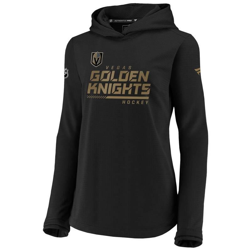 送料無料 サイズ交換無料 ついに再販開始 ファナティクス レディース アウター パーカー スウェット NHL Women's Knights お得セット Pullover Vegas Black Travel Sweatshirt Golden Las