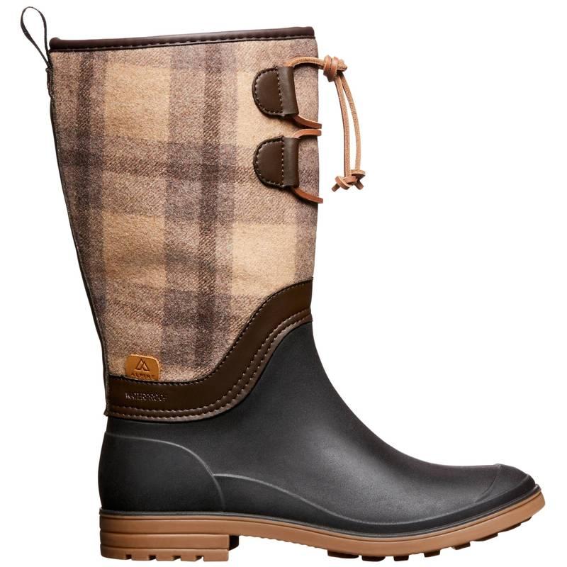 最大80%オフ! アルパインデザイン レディース ブーツ・レインブーツ シューズ Alpine Design x Kamik Women&39;s Plaid Hazel Winter Boots Tan, クラウンギアーズ dee55481