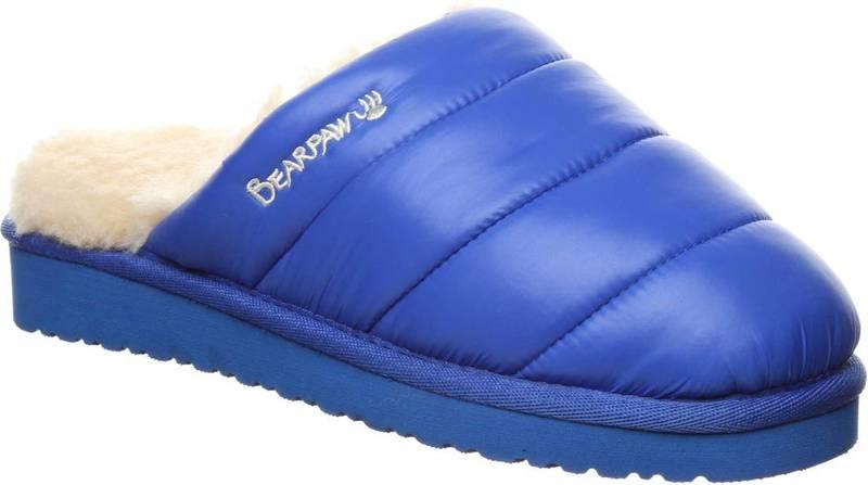 売上実績NO.1 ベアパウ レディース サンダル シューズ BEARPAW Women&39;s Puffy Slippers Blue, イースペックス e9e31803