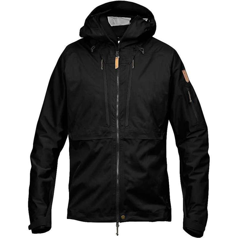フェールラーベン メンズ ジャケット・ブルゾン アウター Fjallraven Men's Keb Eco Shell Jacket Black