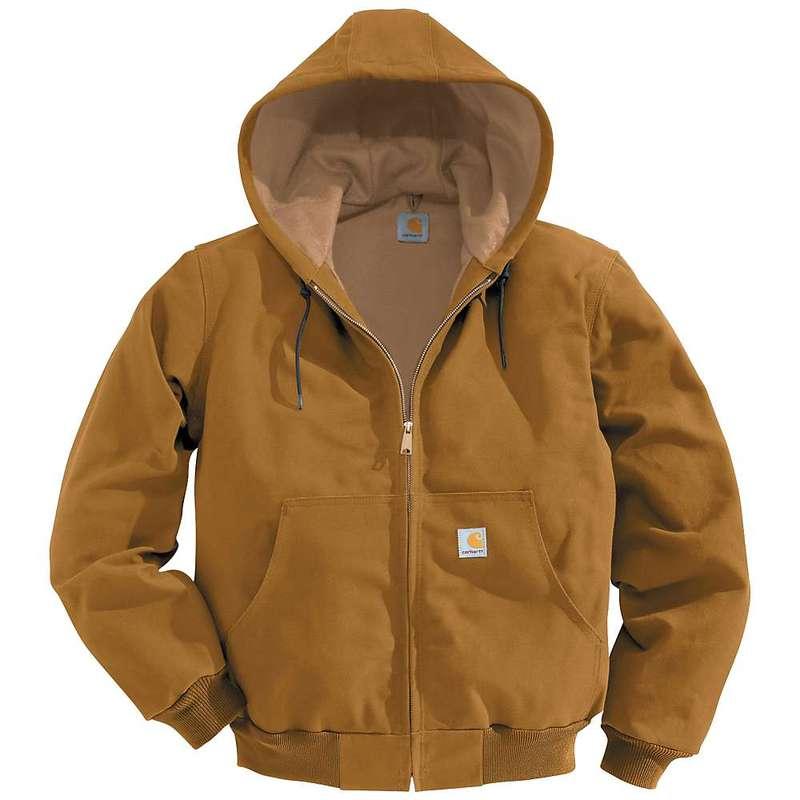 カーハート メンズ ジャケット・ブルゾン アウター Carhartt Men's Thermal Lined Duck Active Jacket Carhartt Brown