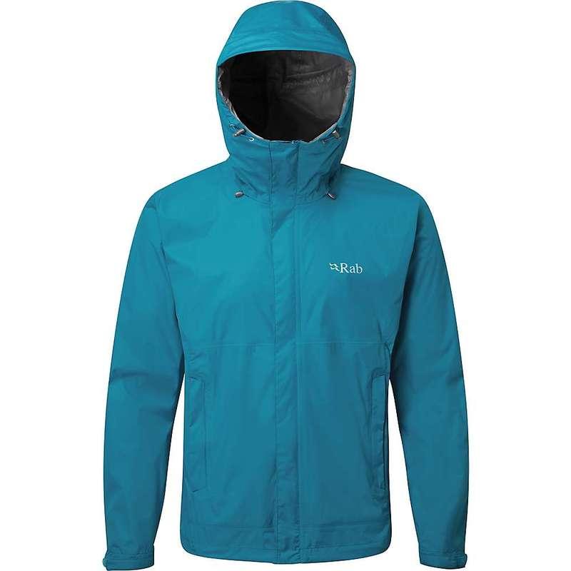 ラブ メンズ ジャケット・ブルゾン アウター Rab Men's Downpour Jacket Azure