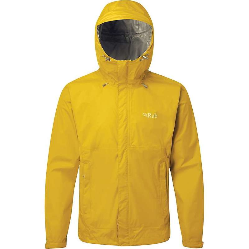 ラブ メンズ ジャケット・ブルゾン アウター Rab Men's Downpour Jacket Sulphur