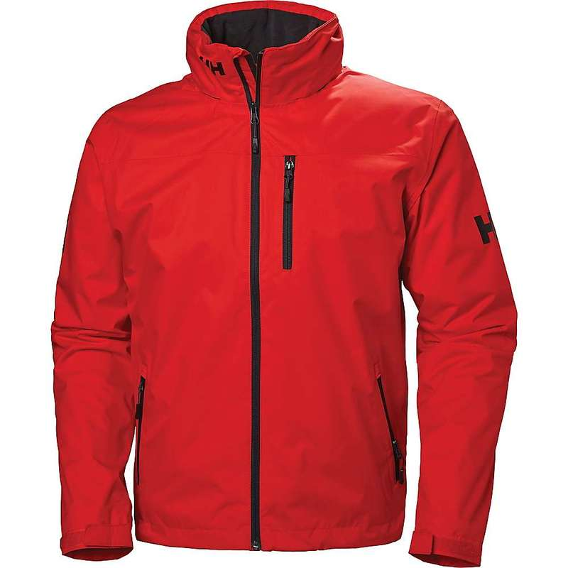 ヘリーハンセン メンズ ジャケット・ブルゾン アウター Helly Hansen Men's Crew Hooded Midlayer Jacket Alert Red