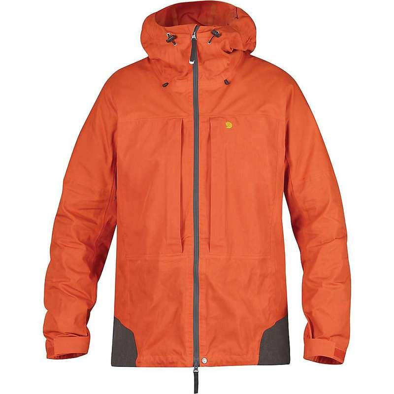 フェールラーベン メンズ ジャケット・ブルゾン アウター Fjallraven Men's Bergtagen Jacket Hokkaido Orange