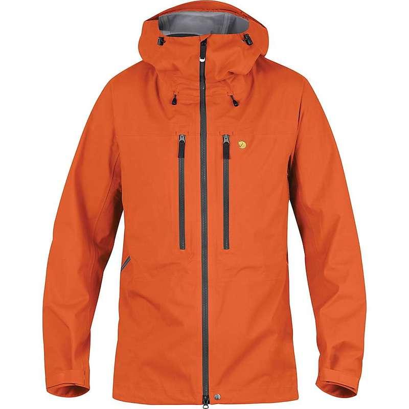 フェールラーベン メンズ ジャケット・ブルゾン アウター Fjallraven Men's Bergtagen Eco Shell Jacket Hokkaido Orange