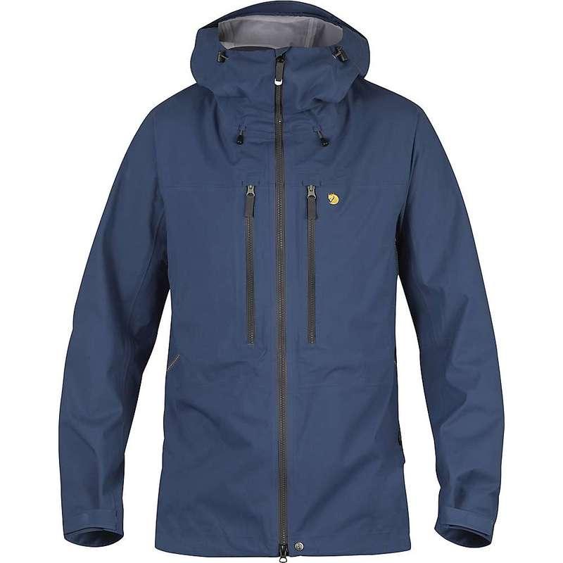 フェールラーベン メンズ ジャケット・ブルゾン アウター Fjallraven Men's Bergtagen Eco Shell Jacket Mountain Blue