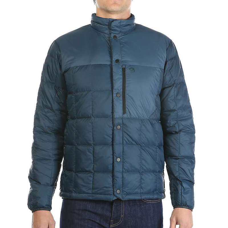 マウンテンハードウェア メンズ ジャケット・ブルゾン アウター Mountain Hardwear Men's PackDown Jacket Hardwear Navy / Zinc