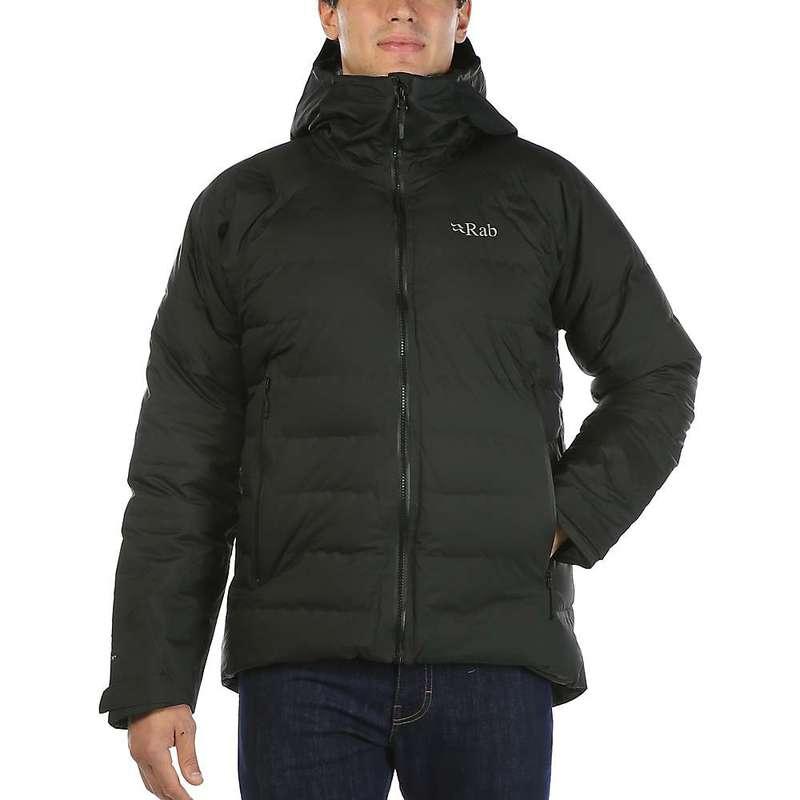 ラブ メンズ ジャケット・ブルゾン アウター Rab Men's Valiance Jacket Black / Zinc