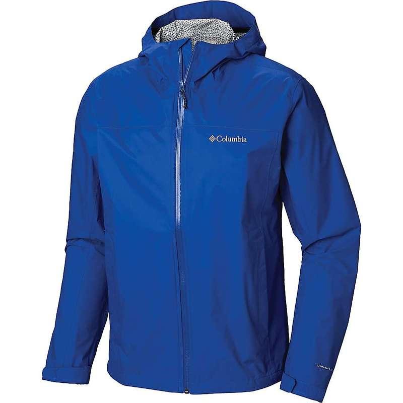 コロンビア メンズ ジャケット・ブルゾン アウター Columbia Men's EvaPOURation Jacket Azul