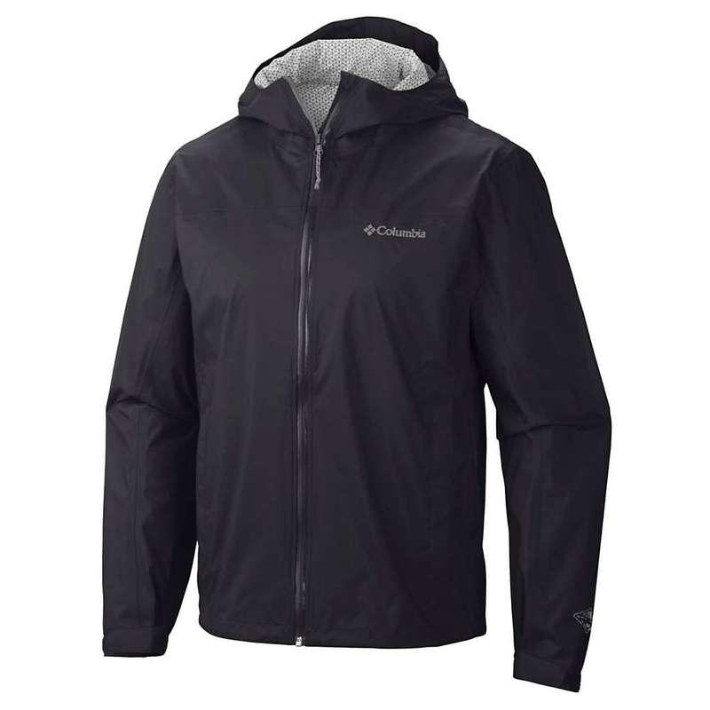 コロンビア メンズ ジャケット・ブルゾン アウター Columbia Men's EvaPOURation Jacket Black