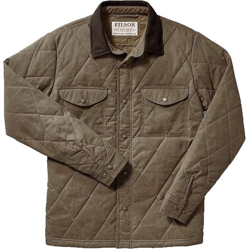 フィルソン メンズ ジャケット・ブルゾン アウター Filson Men's Hyder Quilted Jac-Shirt Tan
