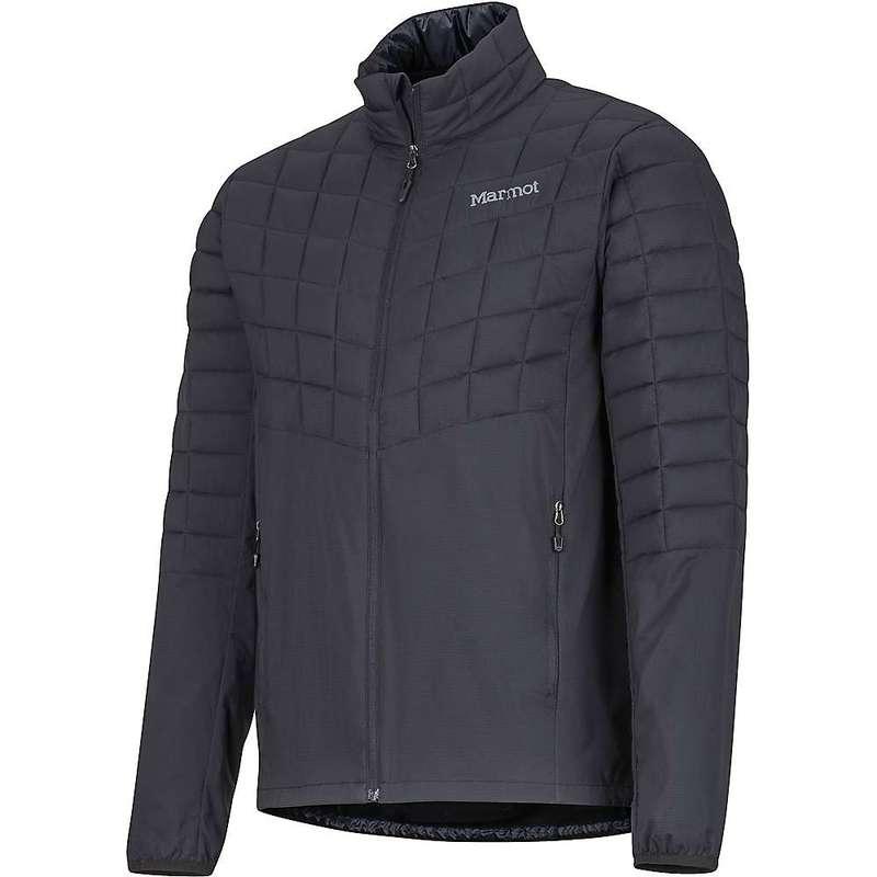 マーモット メンズ ジャケット・ブルゾン アウター Marmot Men's Featherless Hybrid Jacket Black