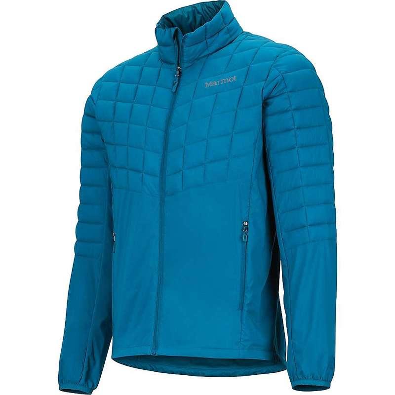 マーモット メンズ ジャケット・ブルゾン アウター Marmot Men's Featherless Hybrid Jacket Moroccan Blue