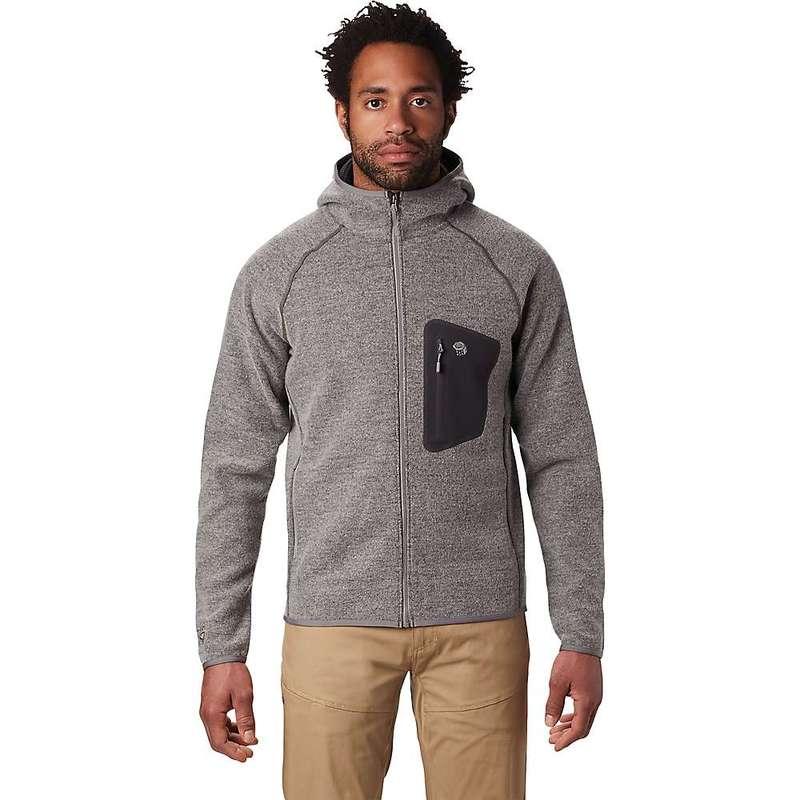 マウンテンハードウェア メンズ ジャケット・ブルゾン アウター Mountain Hardwear Men's Hatcher Full Zip Hoody Manta Grey