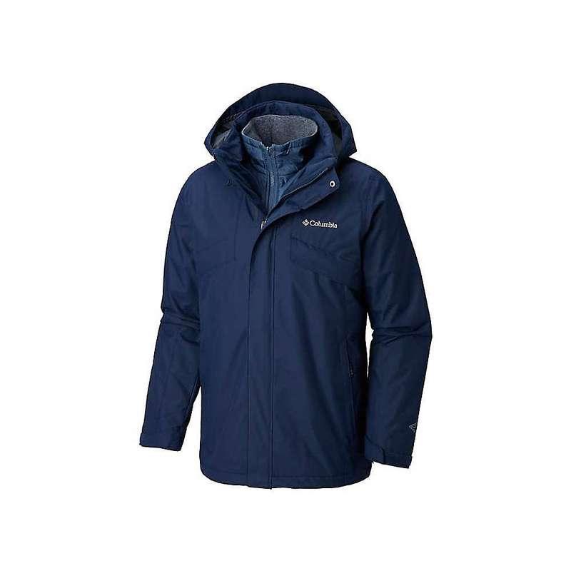 コロンビア メンズ ジャケット・ブルゾン アウター Columbia Men's Bugaboo II Fleece Interchange Jacket Blue