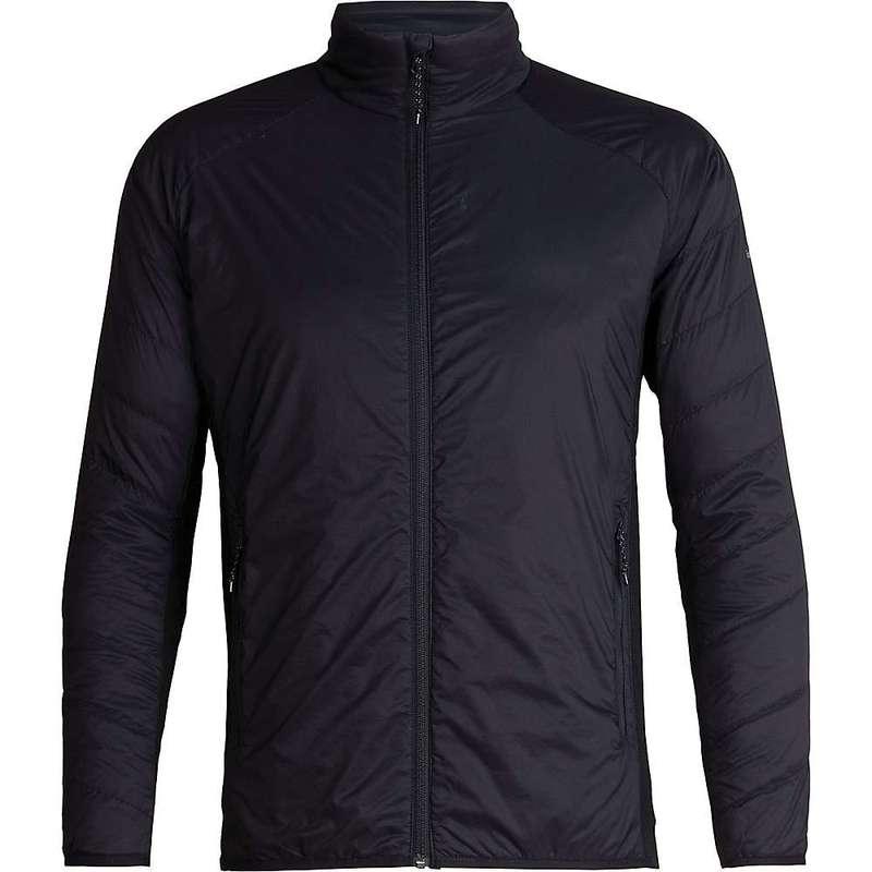アイスブレーカー メンズ ジャケット・ブルゾン アウター Icebreaker Men's Hyperia Lite Hybrid Jacket Black
