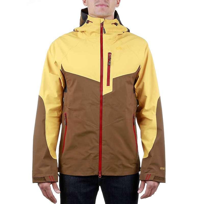 アウトドアリサーチ メンズ ジャケット・ブルゾン アウター Outdoor Research Men's Hemispheres Jacket Carob / Honey