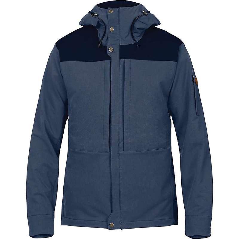 フェールラーベン メンズ ジャケット・ブルゾン アウター Fjallraven Men's Keb Touring Jacket Storm / Night Sky