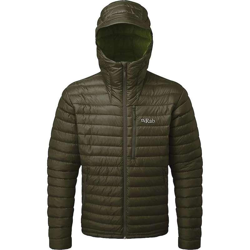 ラブ メンズ ジャケット・ブルゾン アウター Rab Men's Microlight Alpine Jacket Army / Cactus