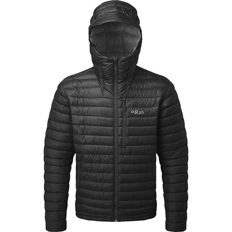 ラブ メンズ ジャケット・ブルゾン アウター Rab Men's Microlight Alpine Jacket Black / Shark