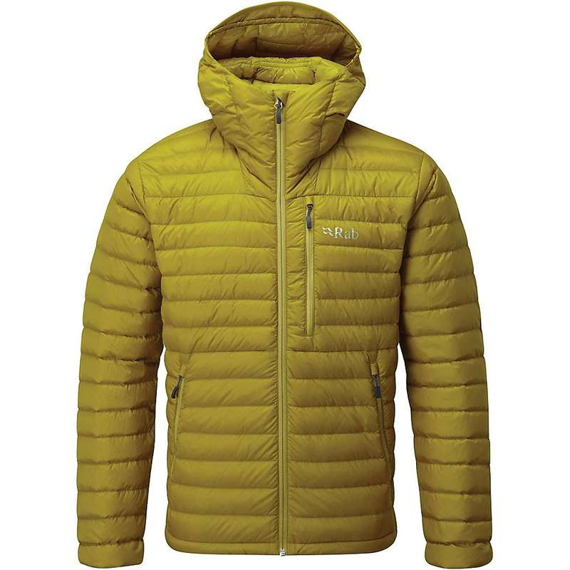 ラブ メンズ ジャケット・ブルゾン アウター Rab Men's Microlight Alpine Jacket Dark Sulphur / Sulphur